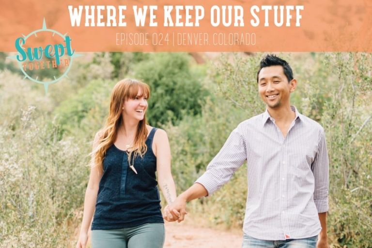 Swept Together Episode 24 Where We Keep Our Stuff